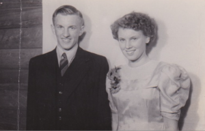 1.1 Bryan with sister Marie 1949 Ngatea D H S Annual Ball